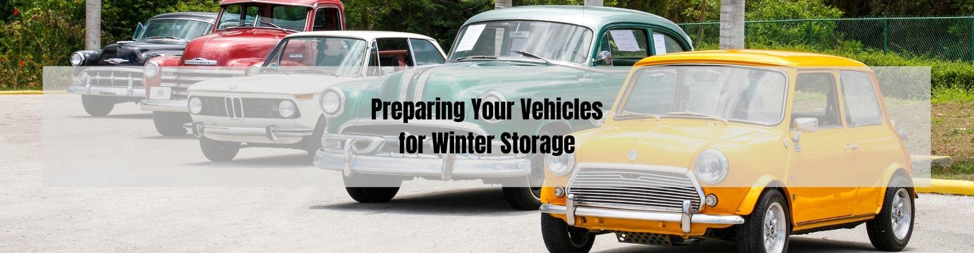 winter vehicle storage Phoenixville PA